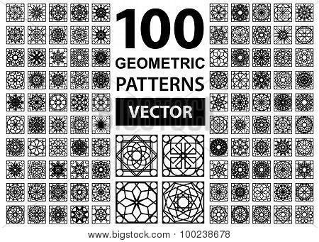 Vector Set of Geometric Patterns
