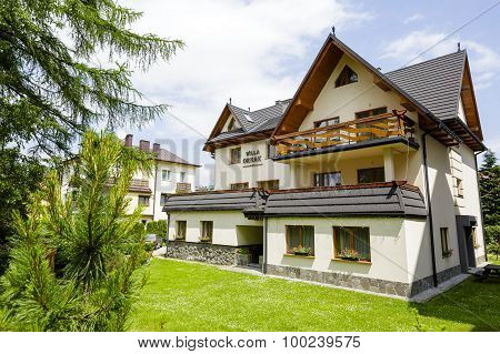 Guest House Called Willa Ornak In Zakopane
