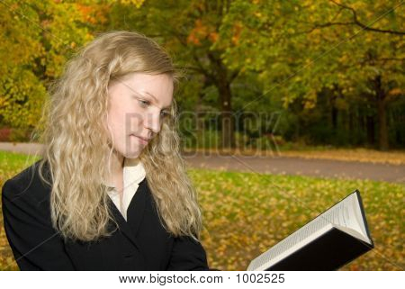 Women Reading In The Park.