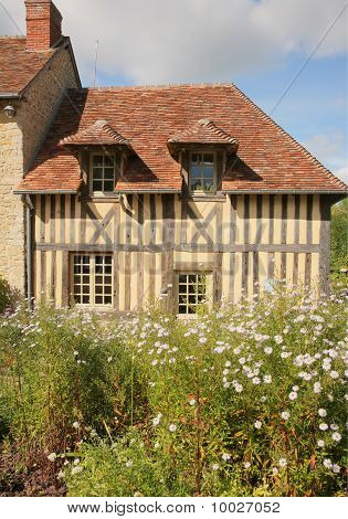 French Colombage House