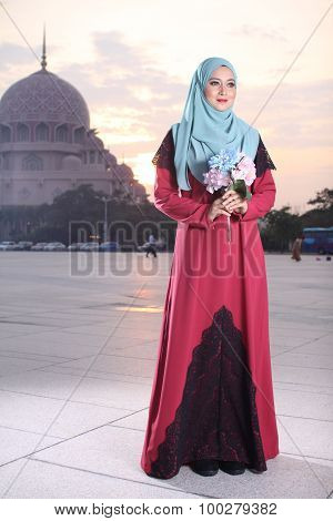 high fashion muslim women