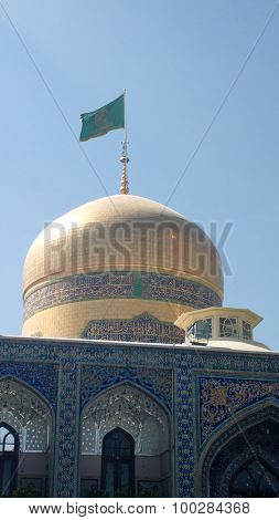 The shrine of Imam Ali al-Rida