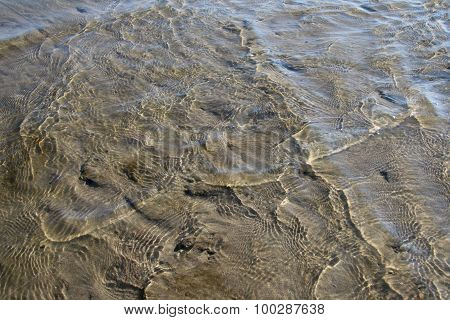 Shallow Water On The River