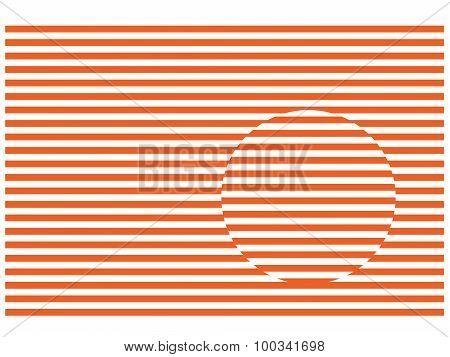 Stripes And Circle