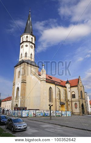 Church In Levoca Town