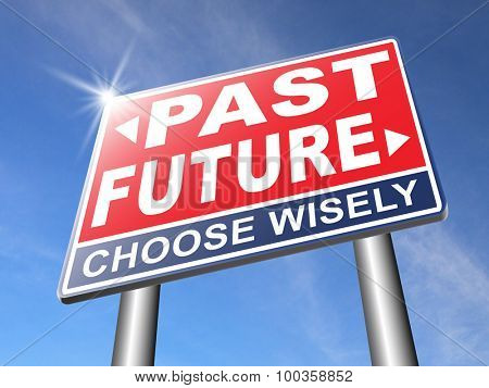 past future prediction and forecast near bright future fortune telling and forecast evolution and progress and innovations