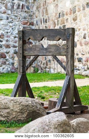 Wooden Medieval Torture Device