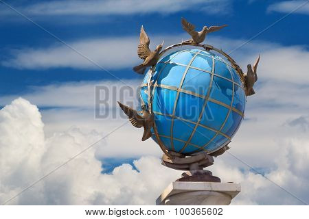 The Globe In Kiev