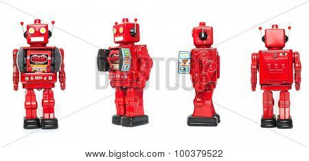 retro robot toy
