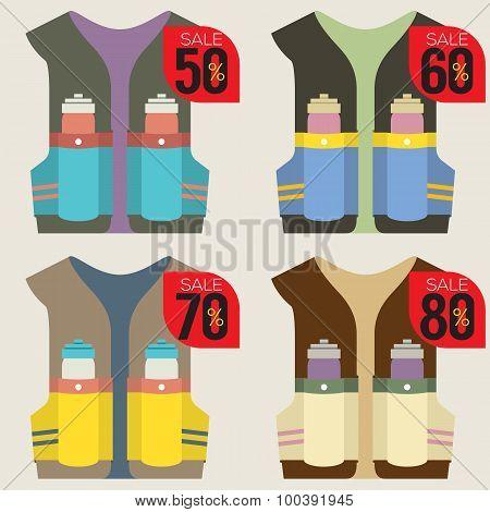 Colorful  Hydration Vest On Sale.