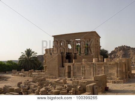 Philae Temple Quadrangular