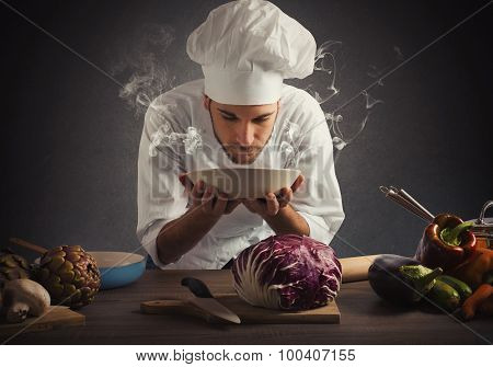 Aroma of a dish