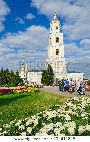 Belfry On Territory Of Holy Trinity Seraphim-diveevo Convent, Diveevo, Russia