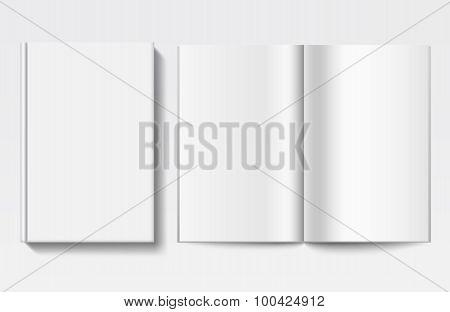 White book template