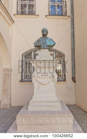 Romer Floris Monument In Bratislava, Slovakia