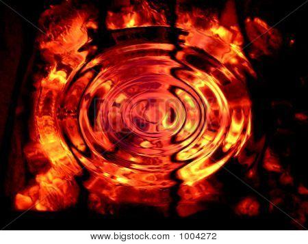 Background Ripple Fire