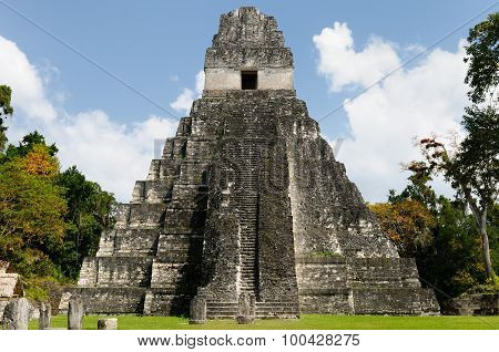 Guatemala, Tikal Mayan Ruins
