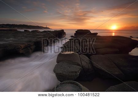 Sunrise At Soldiers Point Norah Head