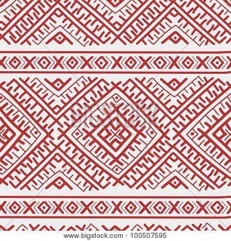 Ethnic Russian Seamless Pattern