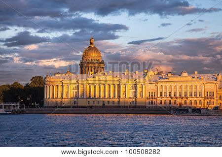 Senate And Synod Building, Saint Isaac's Cathedral, St. Petersburg