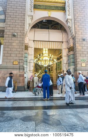 Nabawi mosque babussalam