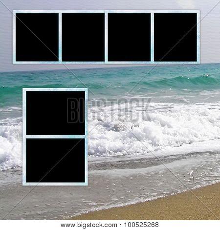 Template Photo Album.