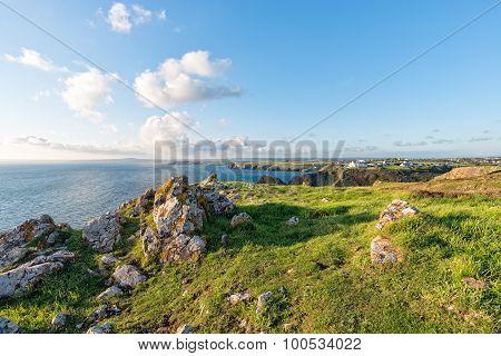 The Lizard Coast In Cornwall