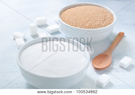 Different Types Of Sugar: Brown, White And Refined Sugar