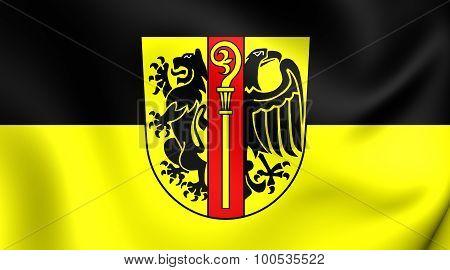 Flag Of Ostalbkreis, Germany.