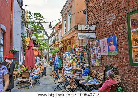 Bremen Schnoor Quarter
