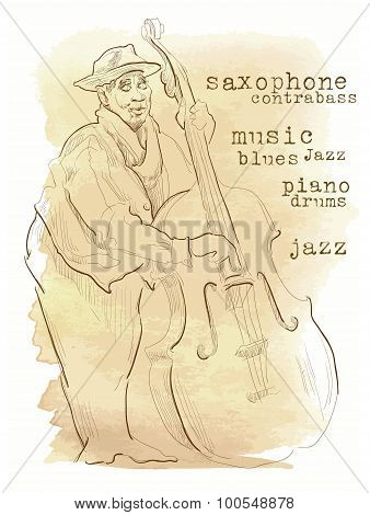 Jazz Music Inscriptions.