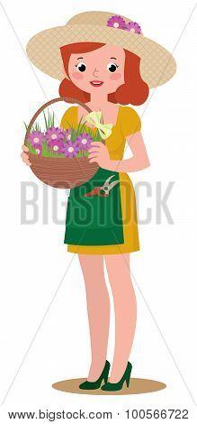 Woman Gardener