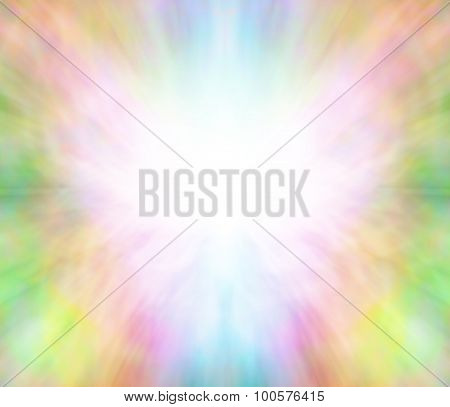 Ethereal healing angel light background