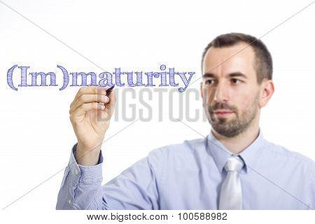 (im)maturity