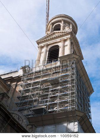 Paris And Church restoration