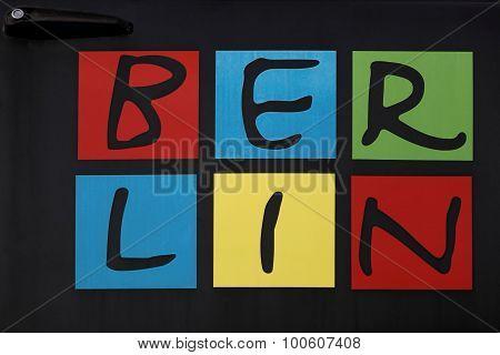 Berlin logo on a trabant car