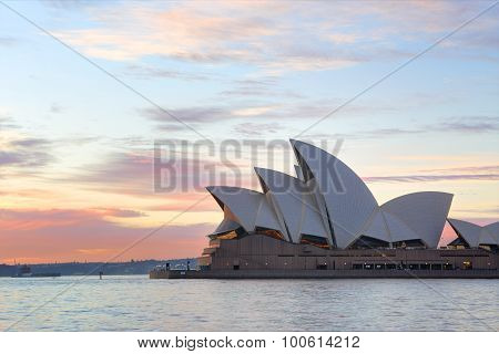 Sunrise And Sydney Opera House