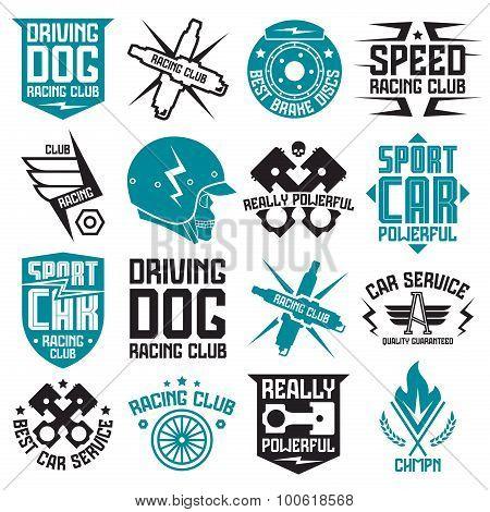 Vinyl Stickers On Car