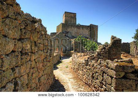 Ruins of Marialva historical village