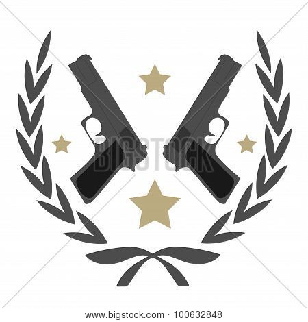 Pistol Emblem