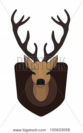 Deer Head Color