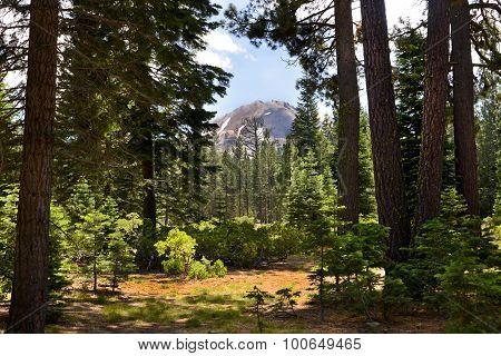 Mt Lassen Peak Lassen National Park, California