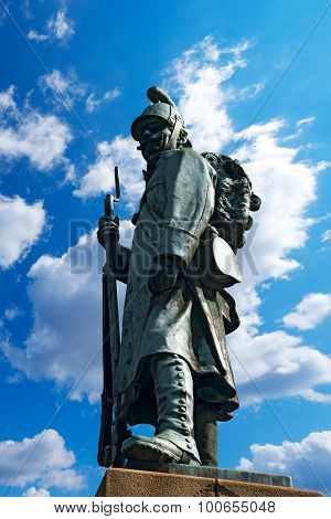 Monument To The Austrian Soldier - Tarvisio Italy