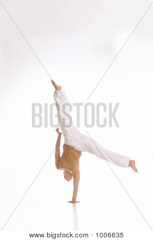 Handstanding