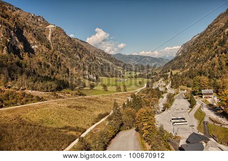 Large valley near Kaprun - Zell am See, Austria