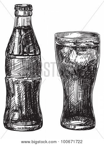 Glass and Bottle