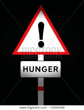 hunger sign
