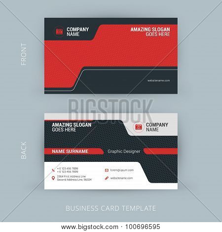 Creative And Clean Business Card Template