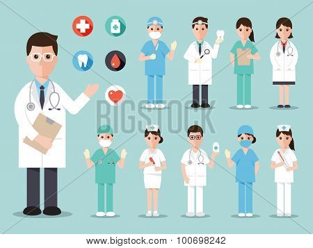 Medical And Hospital Icons