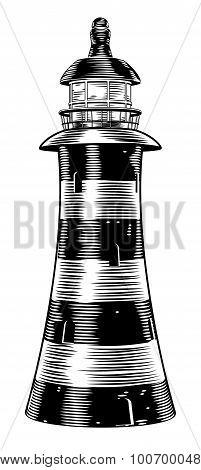 Vintage Style Lighthouse